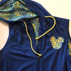 Disney parks Mickey Mouse hoodie vest